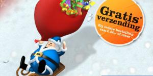 kerstactie geen verzendkosten bij bol.com