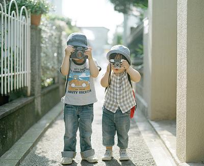 kids met camera