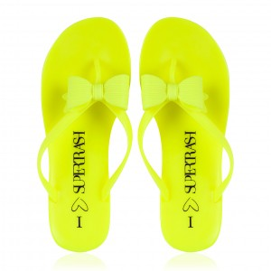 neon slippers